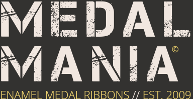 Medal Ribbons | Enamel Medal Pin Badges - Medal Mania