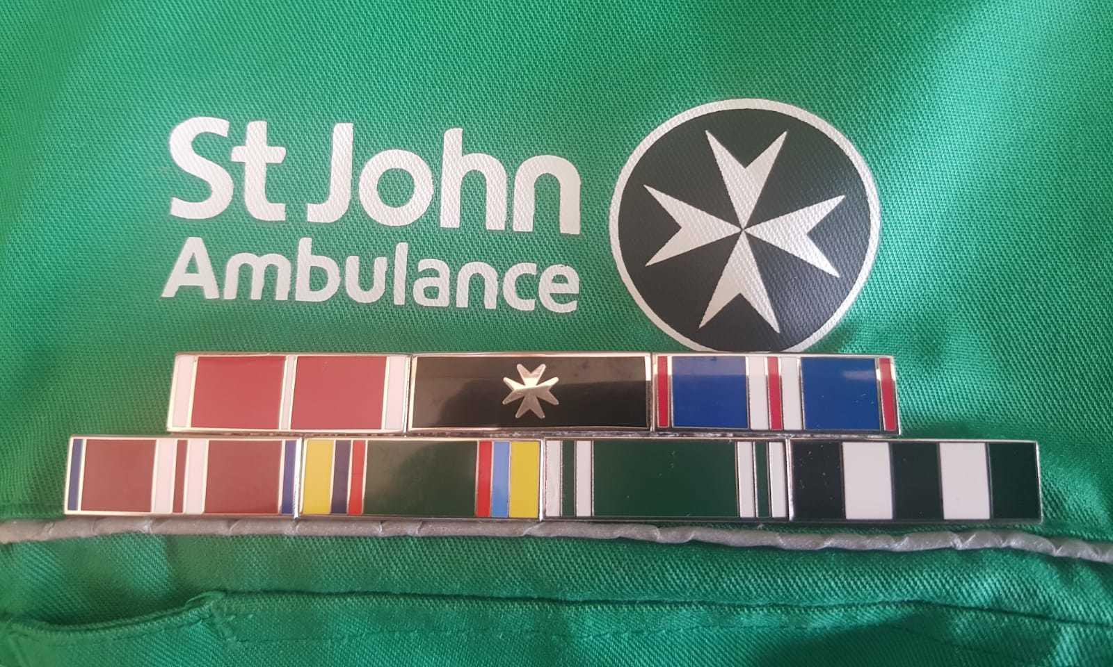 St John Ambulance Medals